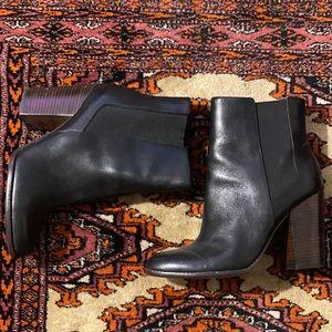 Gently worn Banana Republic Chelsea heeled bootie